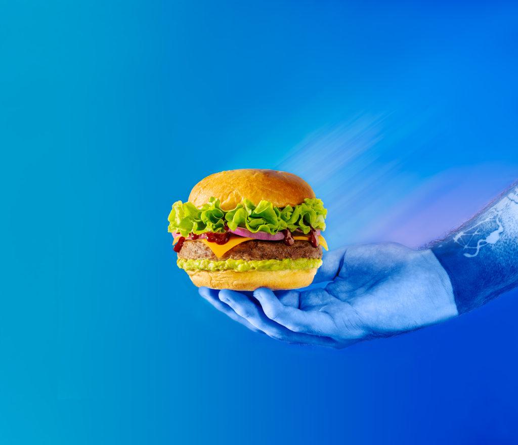 hamburguesa estilismo cocina home economist